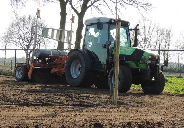 Diverse grondwerken Schutterij te Boshoven